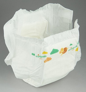 Organic diaper
