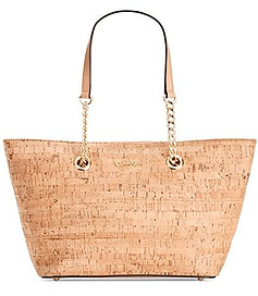 Cork leather bag
