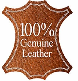 Genuine Leather sign