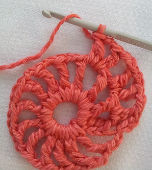 Crocheting in a circle