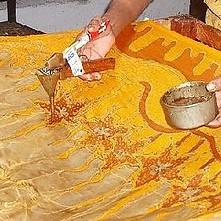 Fabric dye Batik