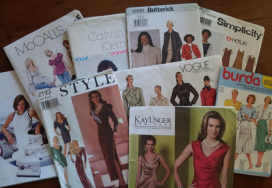Hand crafts sewing patterns