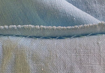 Hand sewing blind stitch