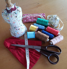 Hand sewing equipment