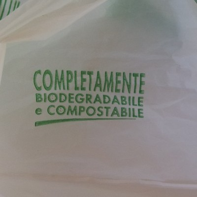 Compostable and biodegradable plastic
