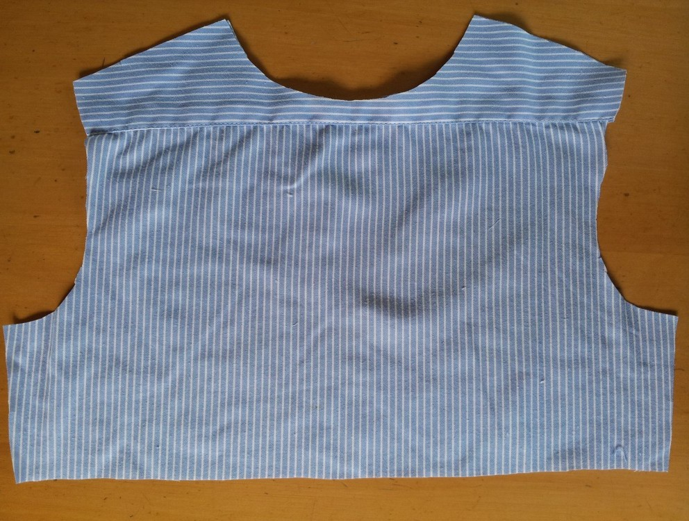 Upcycled clothing projects - back