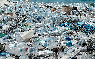 Parley for the Oceans collect plastic trash