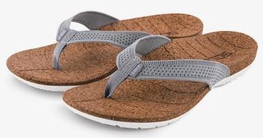 Solé recycled cork flip-flops