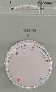 Adjusting stitch length Singer 4452