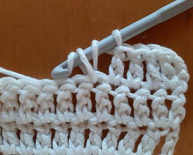 Crochet double rows