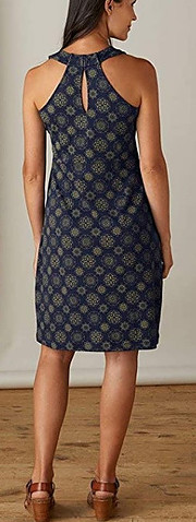 Fair Indigo organic cotton dress