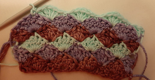 Learn how to crochet shell stitch
