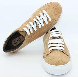 Corks natural vegan shoes