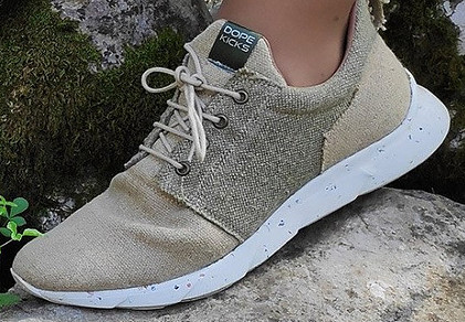 Dopekicks vegan hemp sneakers