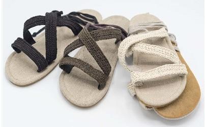 Vegan hemp sandals