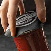 Glass jar opener