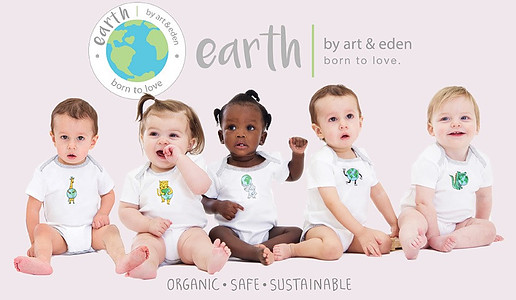 Art and Eden organic clothes for babies and kids