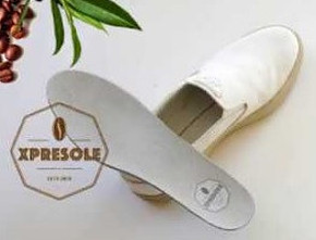 Innovative textile solutions with fabric made with coffee grounds used in footwear