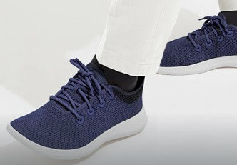 Sustainable Allbirds shoes made from eucalyptus cellulose fibers