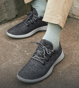 Sustainable Allbirds shoes made from wool