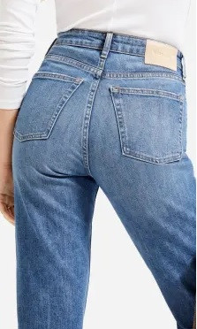 Sustainable denim jeans from Everlane, one of the best sustainable jeans brands