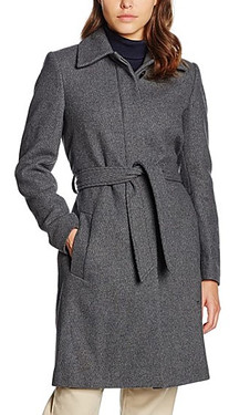 Fillipa K coat made with recycled materials to reduce surplus of garments