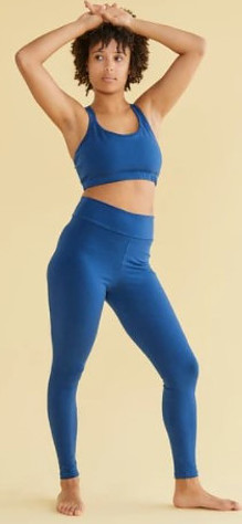 Organic cotton yoga clothes from Vege Threads