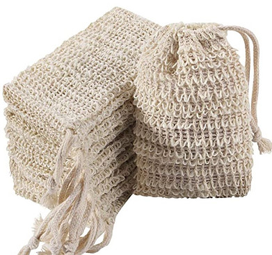 Ramie is used for soap wash bags