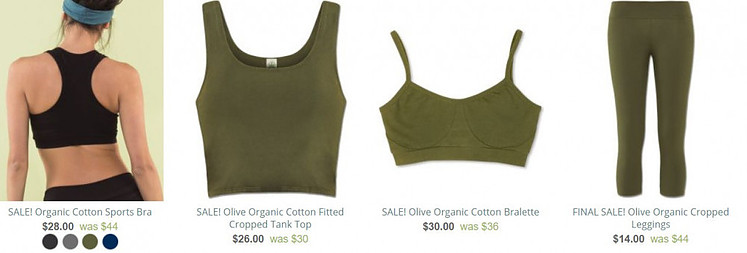 Soul Flower is one of the best yoga clothes brands