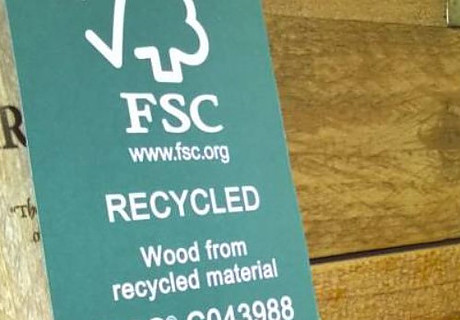Recycled wood is one of the best green flooring materials