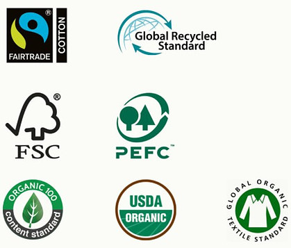 Certifications for organic cotton jeans women range