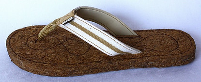 Coconut fiber for footwear is on the sustainable material list
