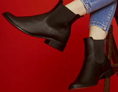 Desserto cactus leather is used to make shoes and boots