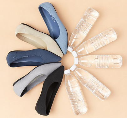 From plastic bottle to shoe