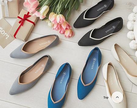 machine washable shoes women range from Vivaia