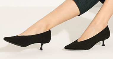 Stylish heels are in the eco friendly shoes women range from Vivaia