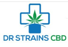 Dr Strains logo of what is the best CBD oil on the market