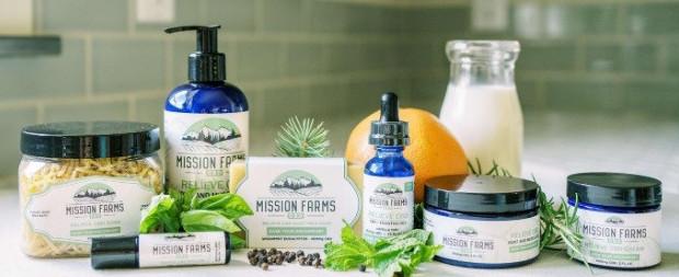 Mission Farms CBD Best organic full spectrum CBD oil for inflammation