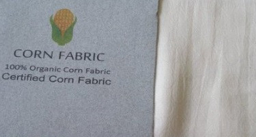 What is fabric made with corn